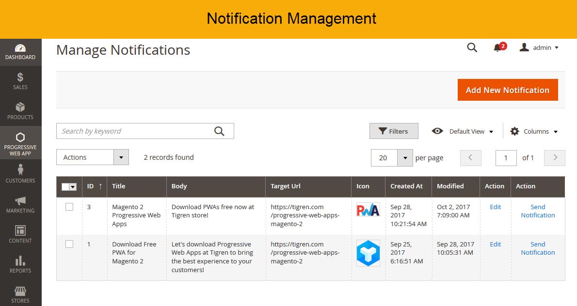 Progressive Web App for Magento 2 Progressive web apps