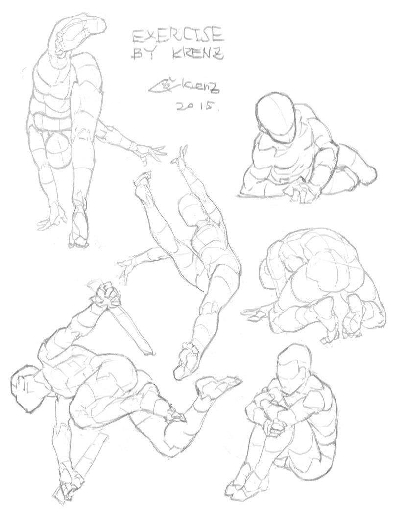 Pin by Ruki Girl on Drawing Tutorials   Pinterest   Anatomy, Pose ...