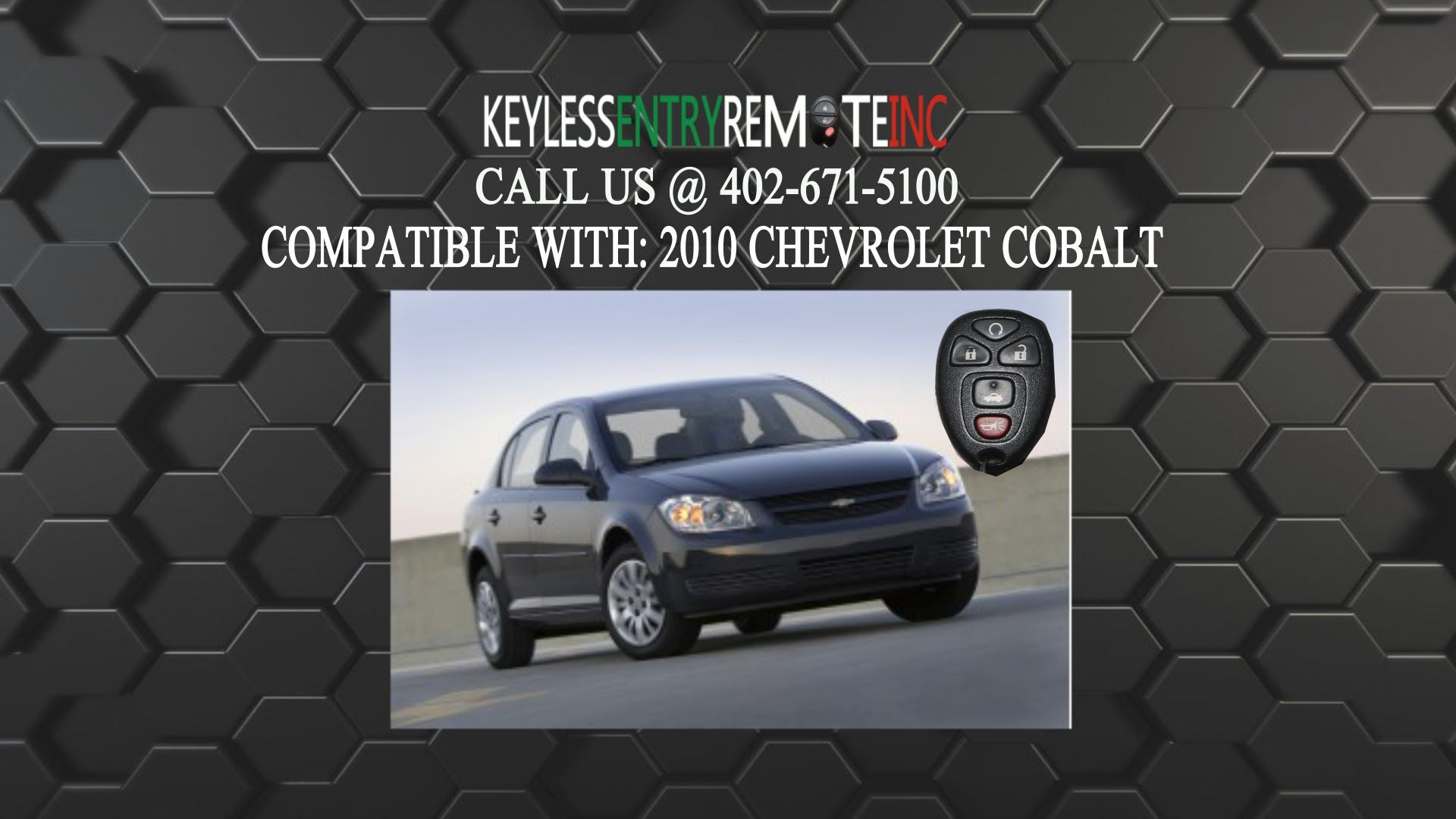 How To Replace A Chevrolet 2005 2010 Cobalt Key Fob Battery