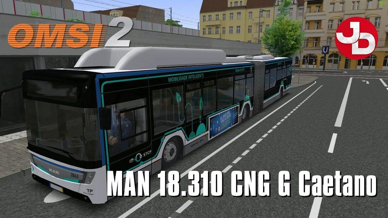 OMSI 2 MAN 18 310 CNG Caetano Bus Mod #OMSI2Mods #OMSI2