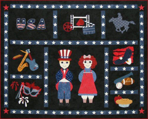 Postcards from...USA Quilt Pattern http://www.victorianaquiltdesigns.com/VictorianaQuilters/PatternPage/PostcardsfromUSA/PostcardsfromUSA.htm #quilting