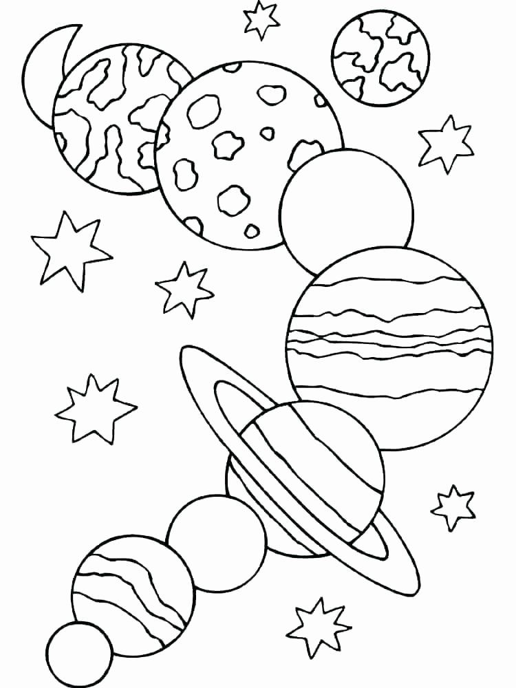 Outer Space Coloring Page In 2020 Space Coloring Pages Planet