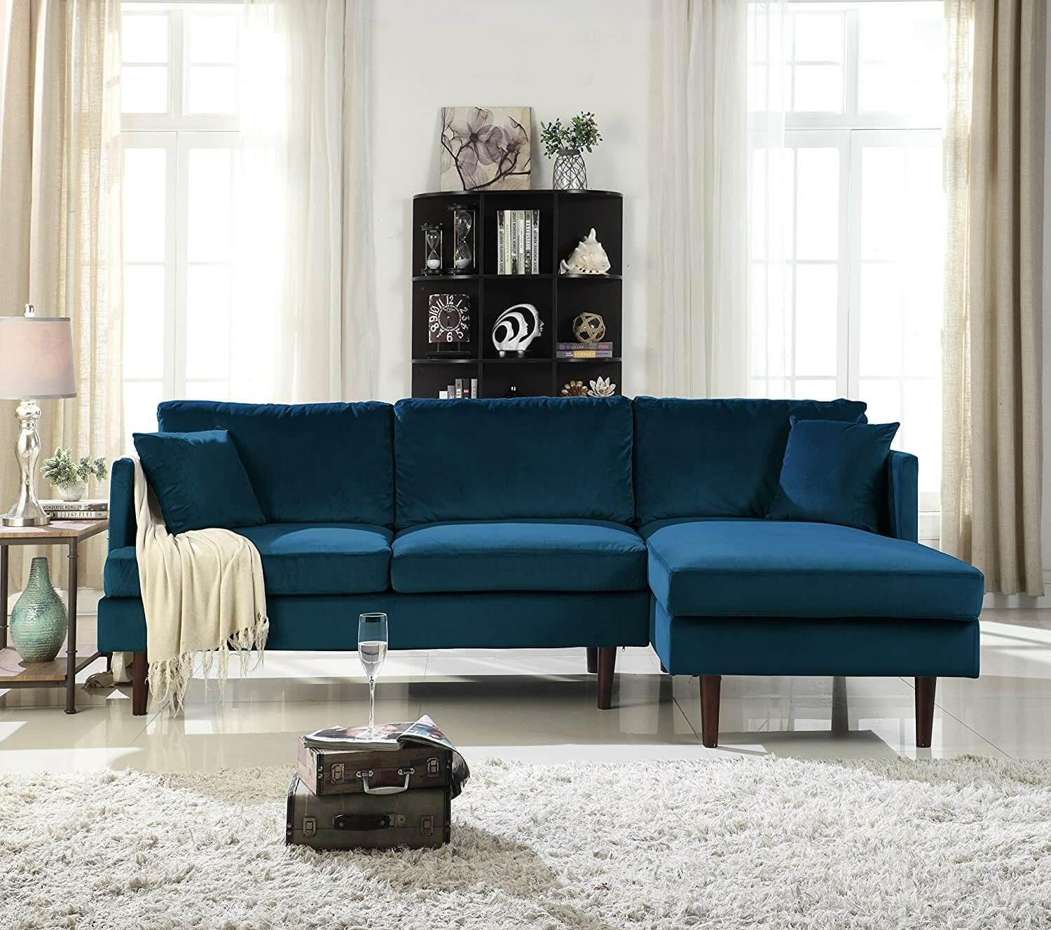 9 Types of Couches You Should Know | Rooms | Sectional sofa with ...