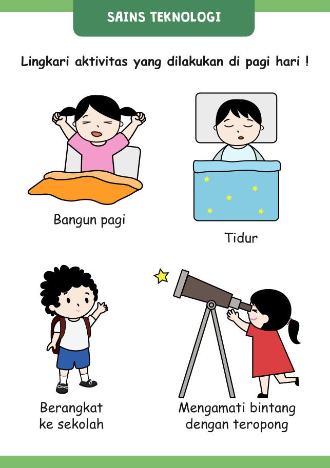 Berangkat Sekolah Kartun : berangkat, sekolah, kartun, Hasil, Gambar, Buku,, Belajar,, Teknologi