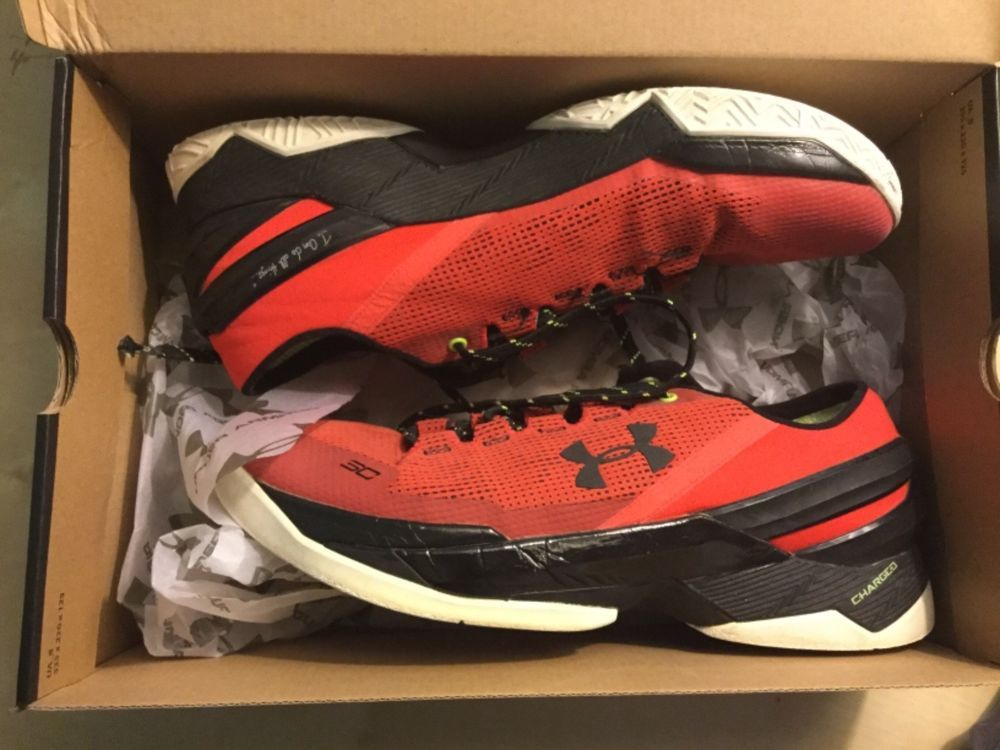 reputable site c8190 93567 UNDER ARMOUR CURRY 2 MENS LOW SNEAKERS SIZE 10.5 #fashion ...