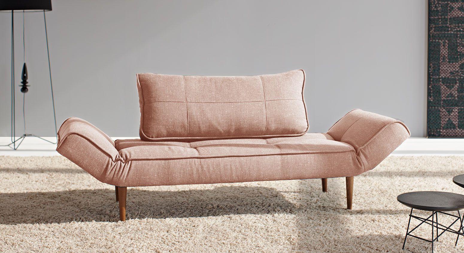 minimalistische relaxliege im reduzierten design! nackenrolle, Schlafzimmer entwurf