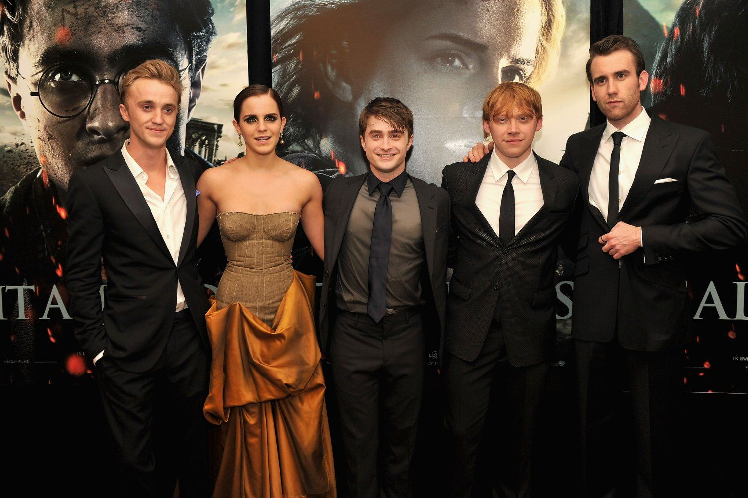 Tom,Emma,Daniel,Rupert & Matthew