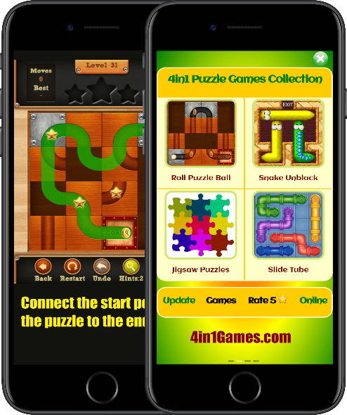 Puzzle Games Collection for android 9 Games app apk