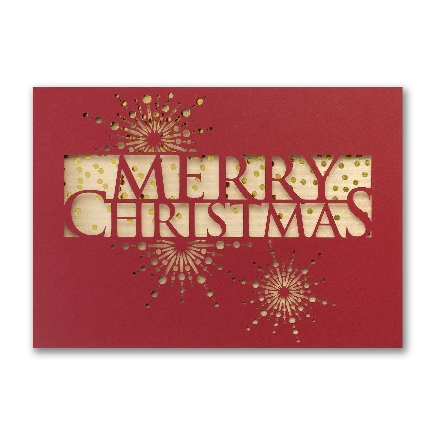 merry christmas laser cut greeting cards discount at check out httppartyblockinvitations - Discount Greeting Cards