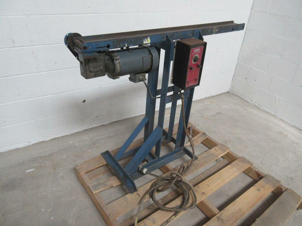 Ebay Sponsored 46 X 4 Conveyor W Speed Control T81494