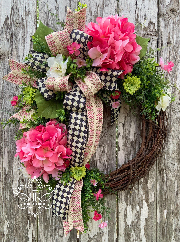 McKenzie Childs Inspired Wreath Farmhouse Wreath Mothers