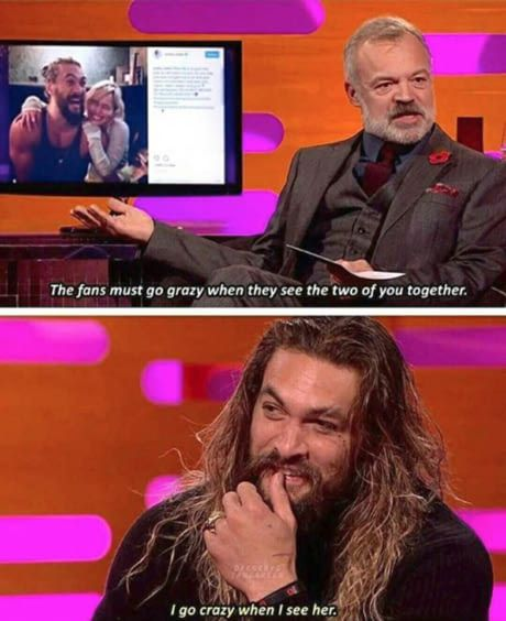 Jason Momoa Graham Norton: Damn You. In 2019