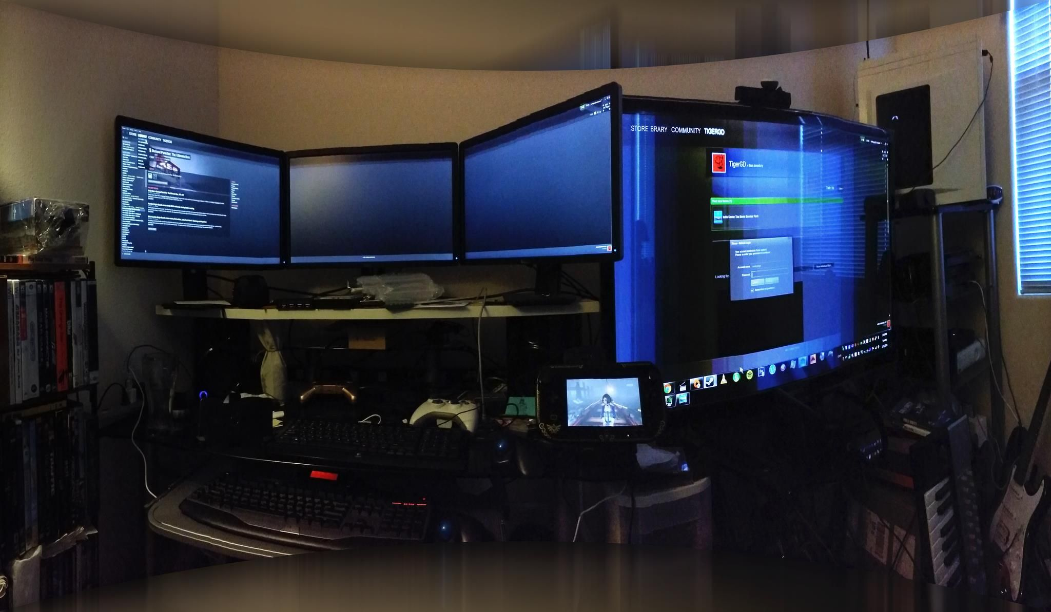 Game room of the mansion quotev slender mansion rp How to make a gaming setup in your room