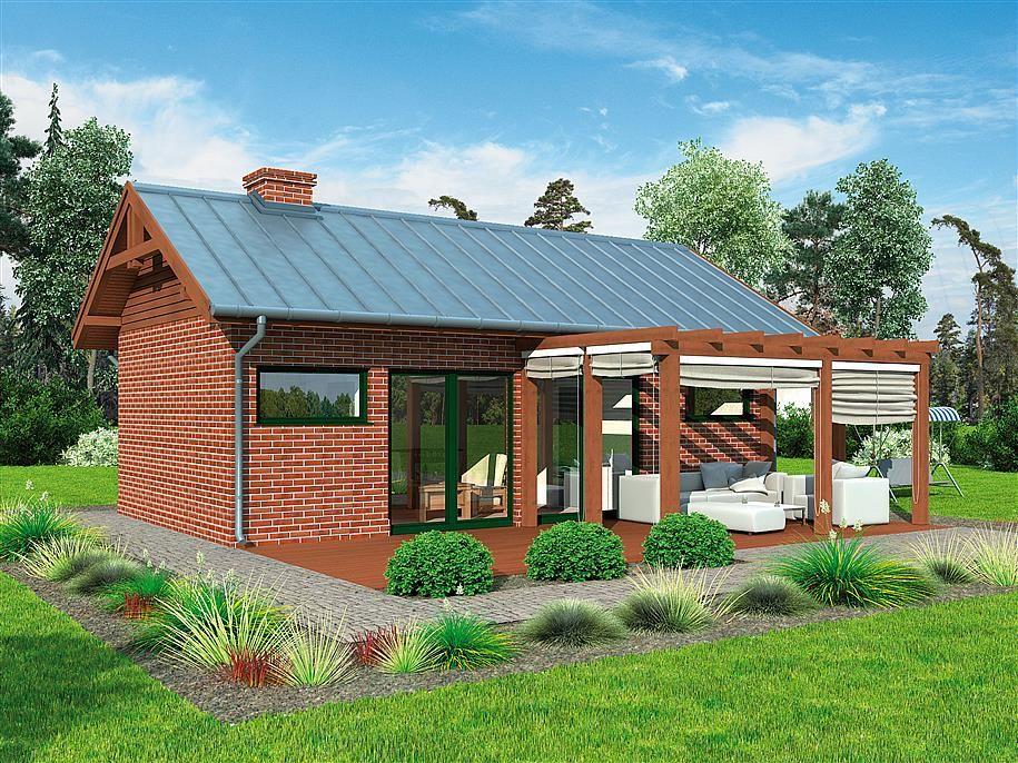 Projekt Kuchni Kl14 Kuchnia Letnia Budynek Gospodarczy Small House Architecture House Styles