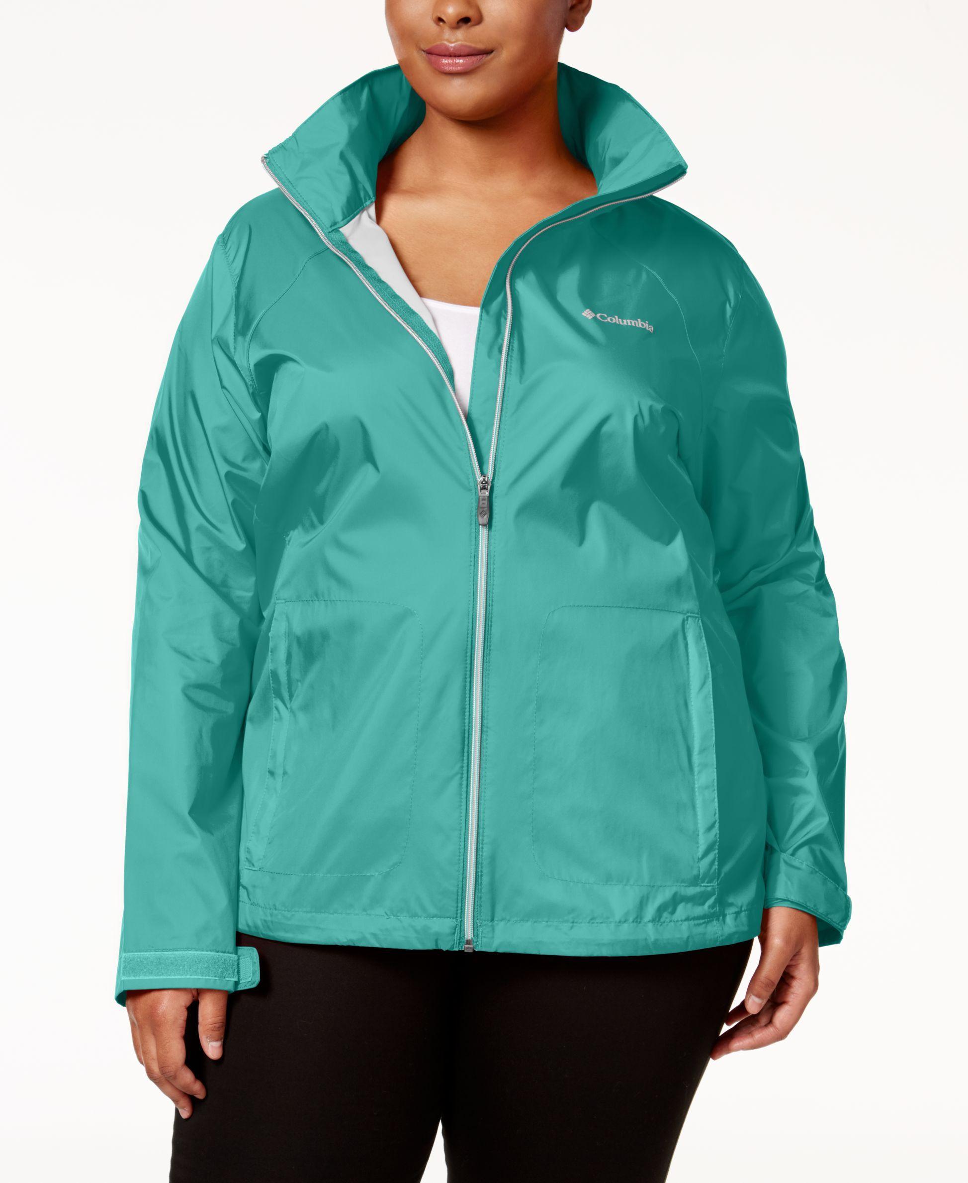 1641c758084 Columbia Plus Size Switchback II Omni-Shield™ Water-Repellent Jacket. Packable  Rain ...