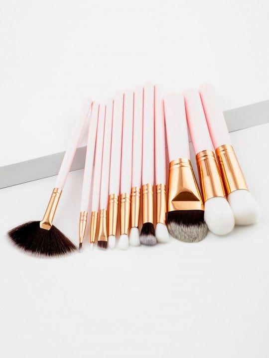 Professional makeup brush set 12pcs #brush #makeupbrush # ...