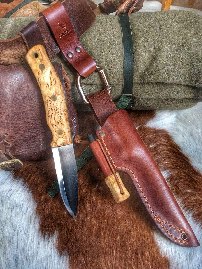 fd47748cdd An excellent choice for the one who looks for a great bushcraft woodsknife.  High quality