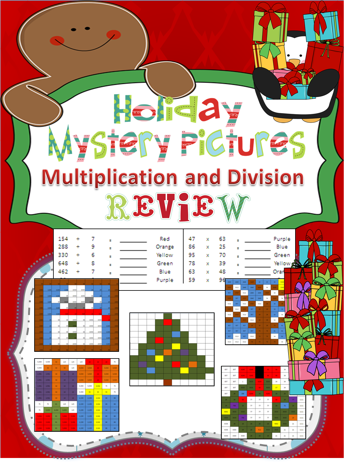 Holiday Multiplication And Division With Images