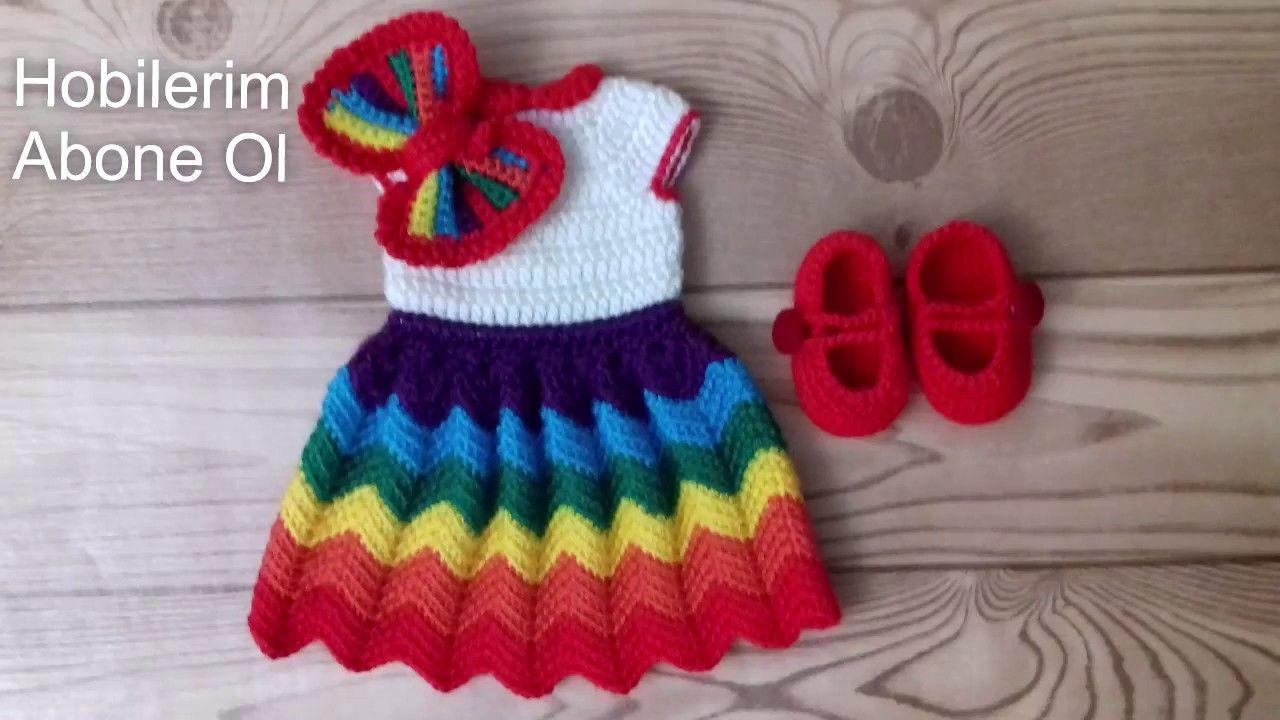 ZÜMRA BEBEK ELBİSE #dress #handmade #doll - YouTube | 720x1280