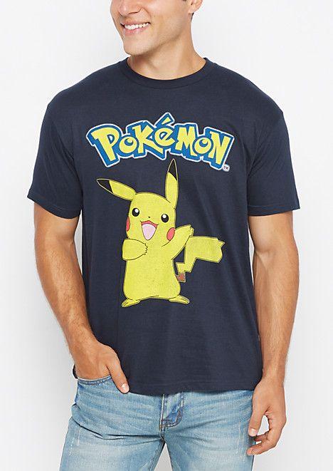 77dfa7f9 Pikachu Retro Tee | rue21 | Male Fashion | Tees, Mens tops, Pikachu