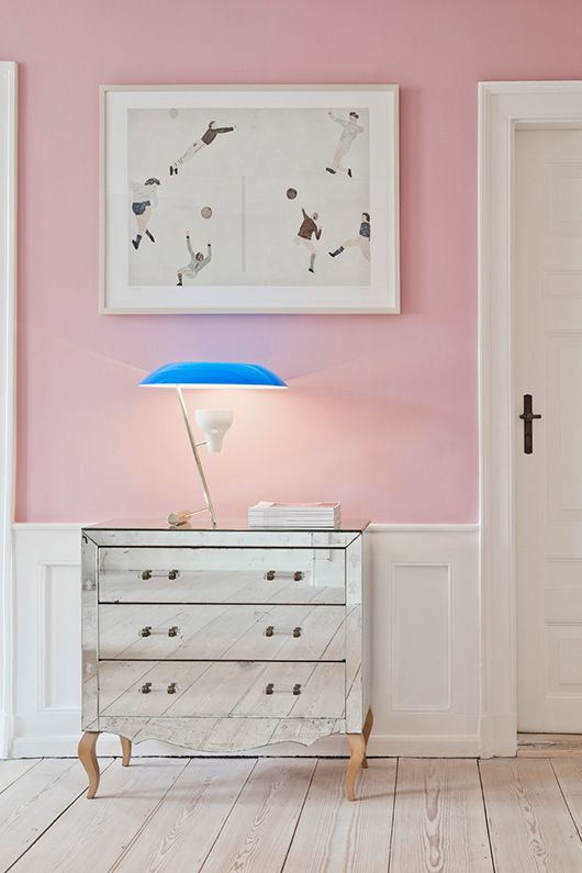 inspired by: the apartment dk. (sfgirlbybay) | Pink walls ...