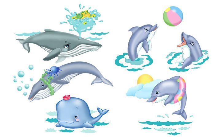 морские обитатели для детей картинки: 15 тыс изображений ...
