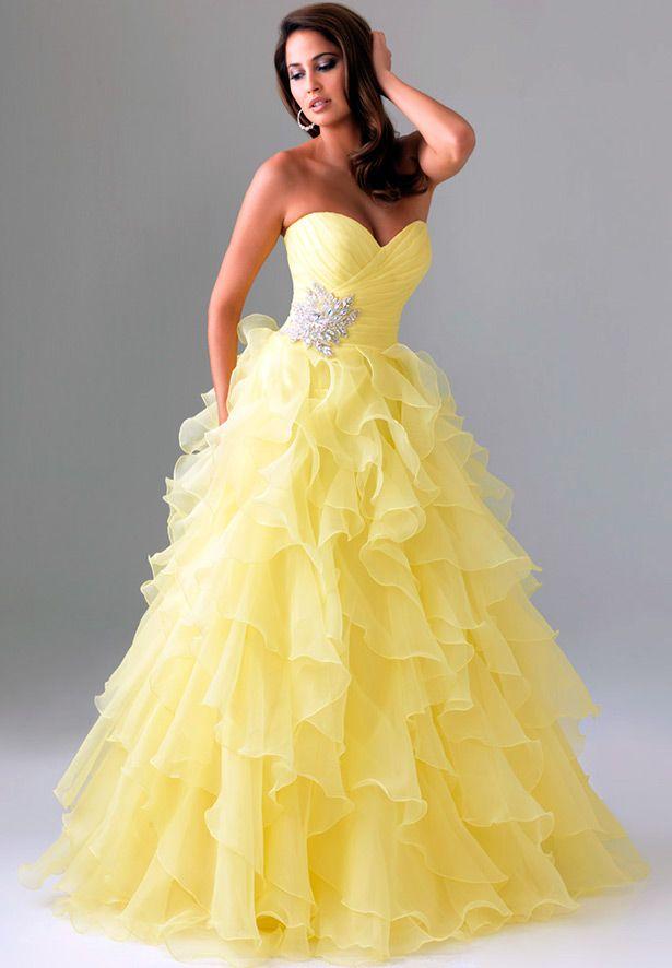 d8554903c00 Изумительно красивые свадебные платья желтого цвета