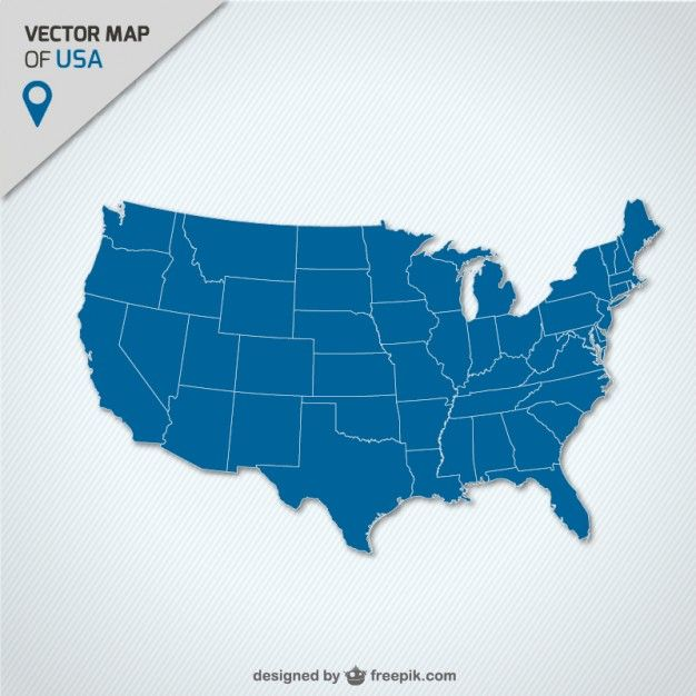 USA map vector free download Bites Pieces Pinterest Vector