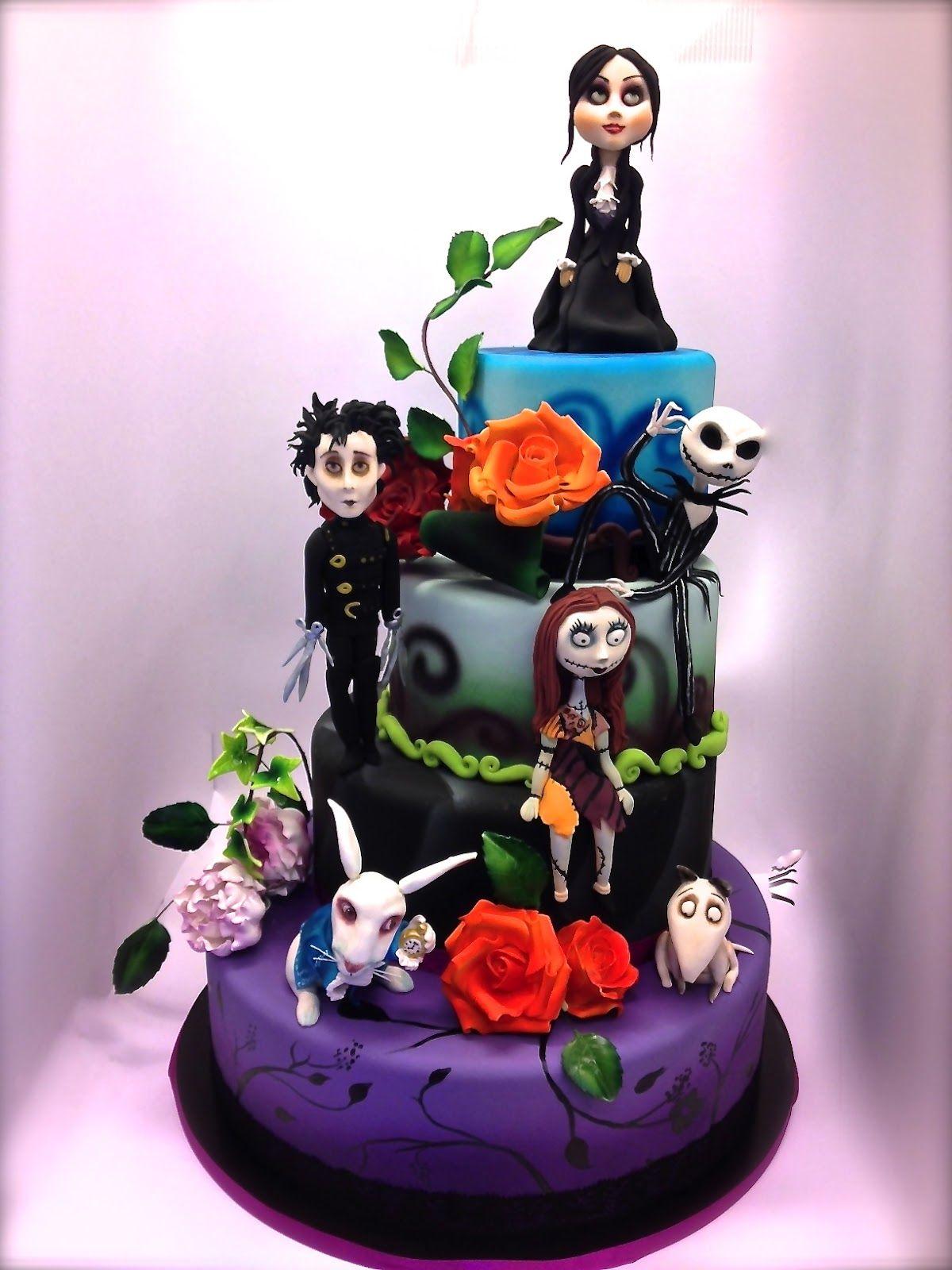 Halloween / Tim Burton cake Halloween cakes, Amazing