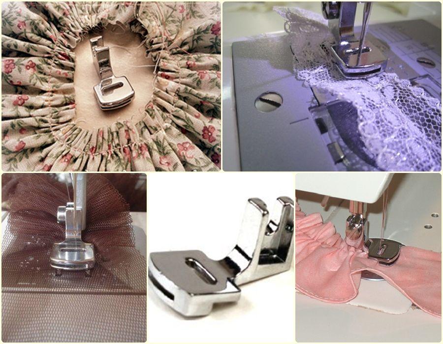 El Pie De Recogido Recoge Las Telas Delgadas Solo Haciendo Las Regulaciones En La Máquina Y Queda Recogida Clases De Costura Taller De Costura Arreglo De Ropa