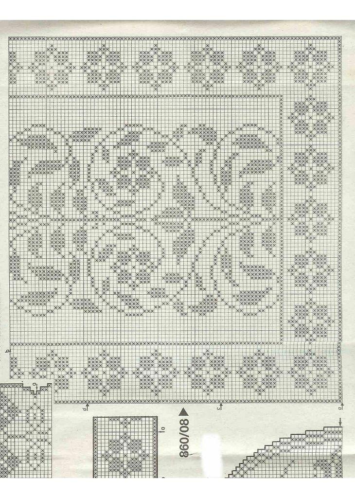 Альбом«Burda special E860/1983 Filet au crochet 4» . Обсуждение на LiveInternet…