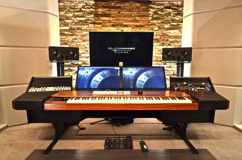 custom designed studio yellow hammer studio ideas pinterest studio studio enregistrement. Black Bedroom Furniture Sets. Home Design Ideas