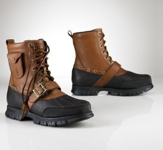 Polo Boots For Men, Fall Winter 2011