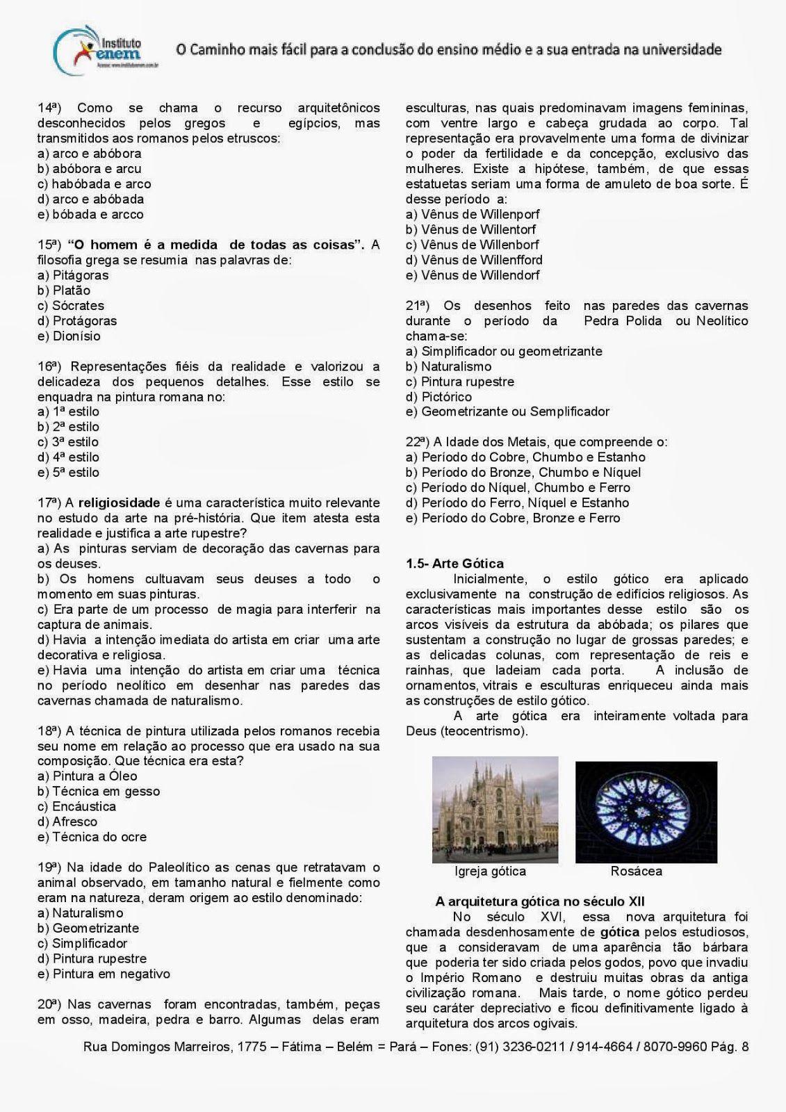 Arte Teatro E Musica Artes Visuais Ensino Medio Para Receber