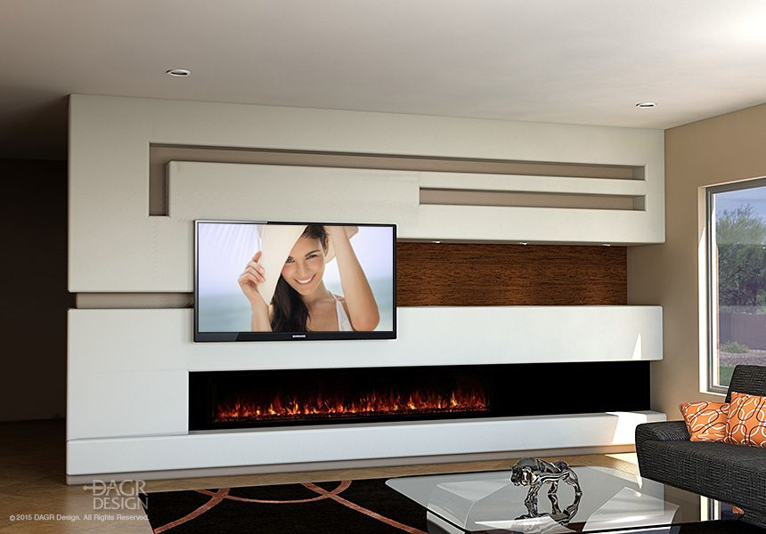 3 Ways Dagr Designu0027s Custom Theaters Will Exceed Your Expectations · Wall  FireplacesFireplace ...