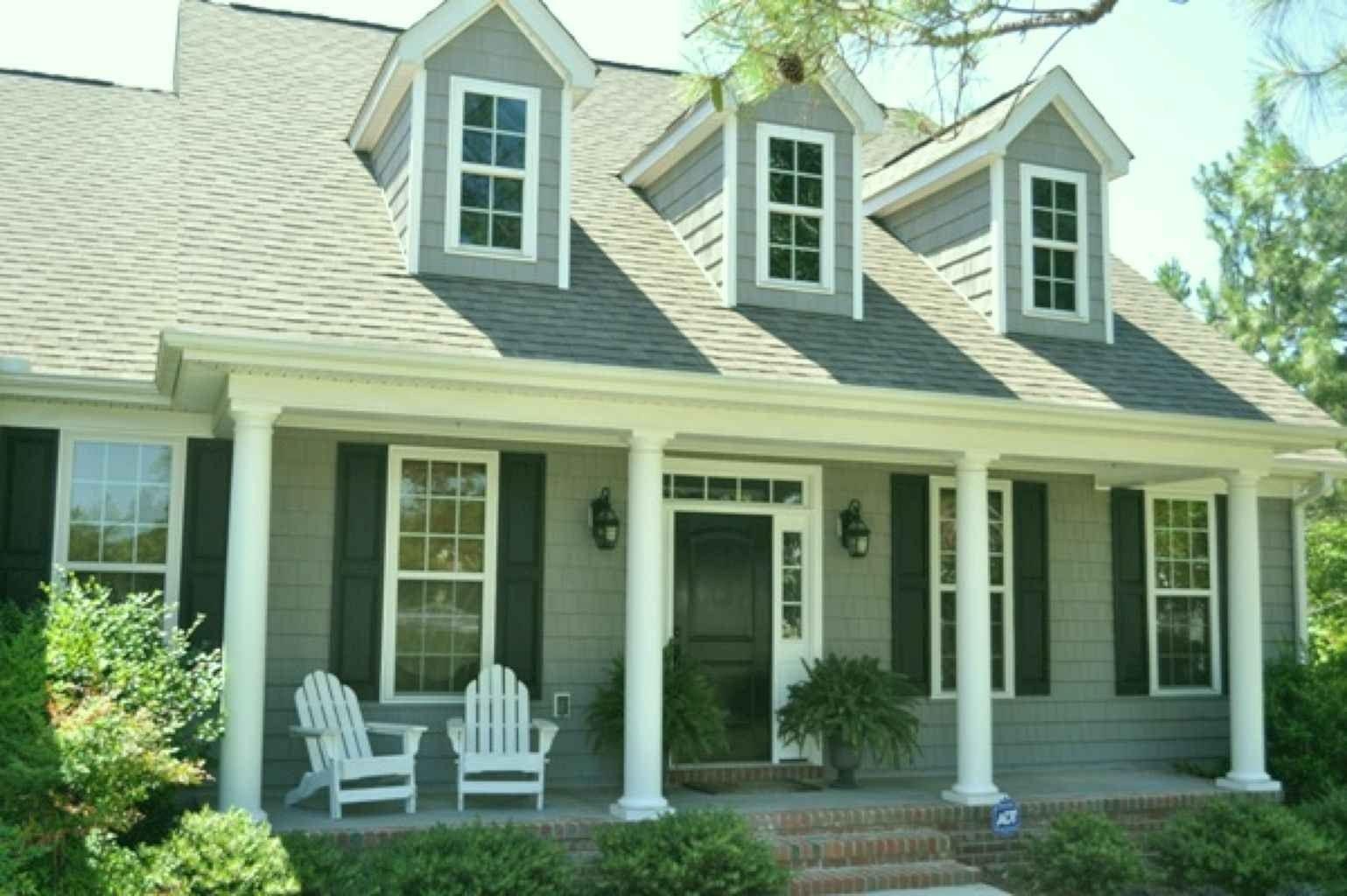 46 Conventional Cape Cod House Exterior Ideas Page 49 Of 49 House Paint Exterior Exterior Paint Colors For House Exterior House Colors
