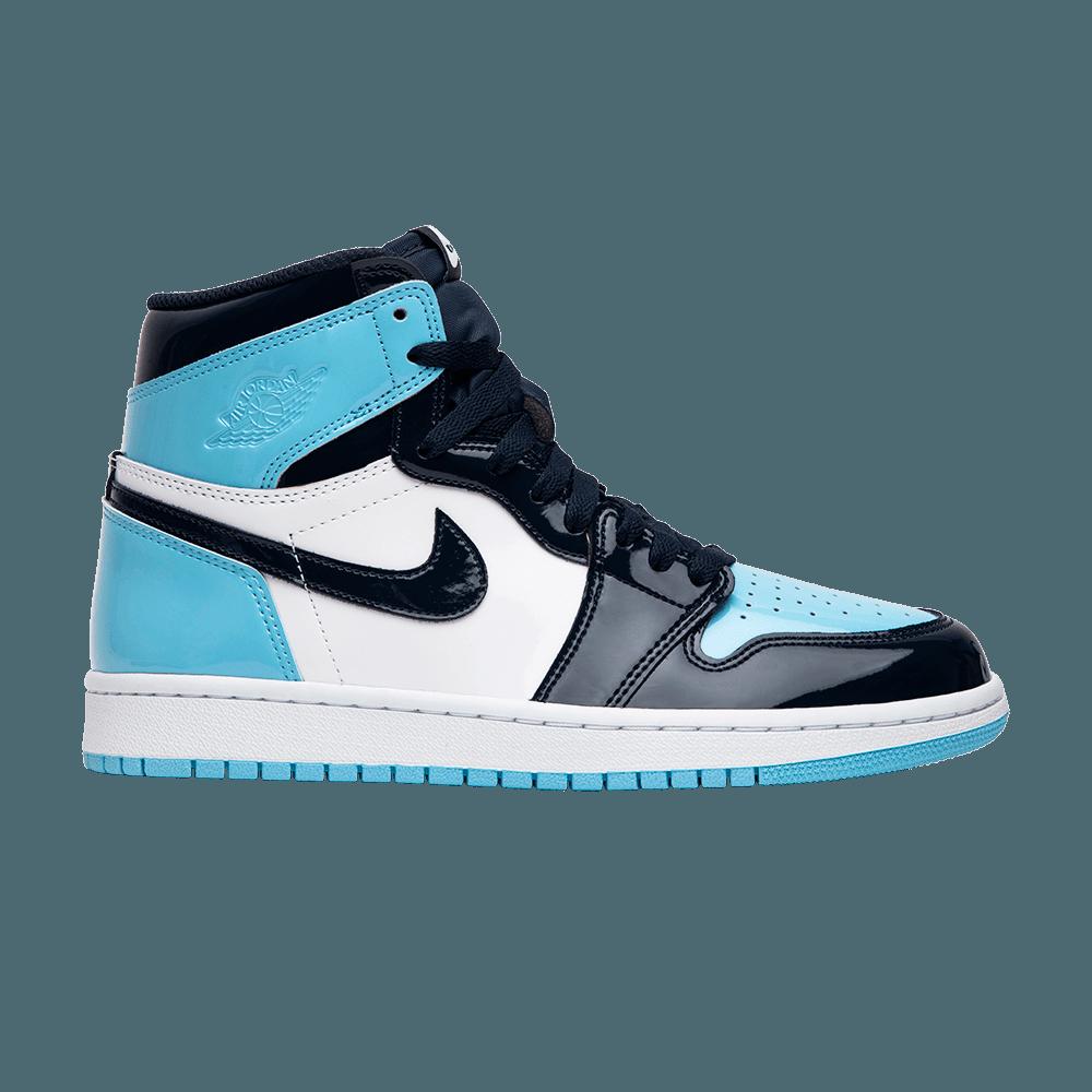 La Air Jordan 1 High UNC Patent Leather Blue Chill : faut il