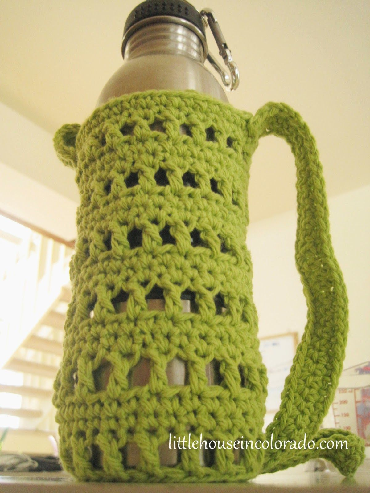 I know there are several patterns around on the internet for i know there are several patterns around on the internet for crocheted water bottle holders bankloansurffo Choice Image