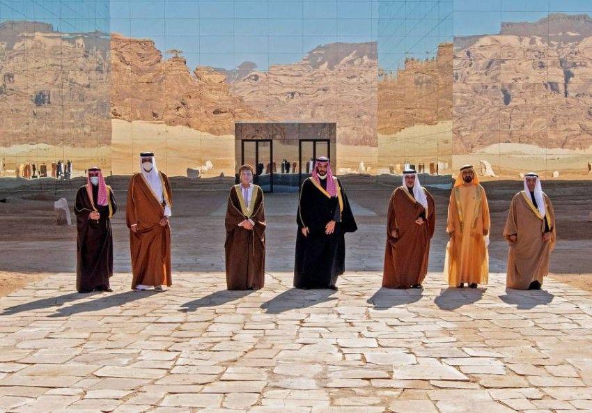 قطر ت رحب بـ بيان الع لا الصادر عن اجتماع المجلس الأعلى لدول مجلس التعاون الخليجي In 2021 Natural Landmarks Landmarks Mount Rushmore