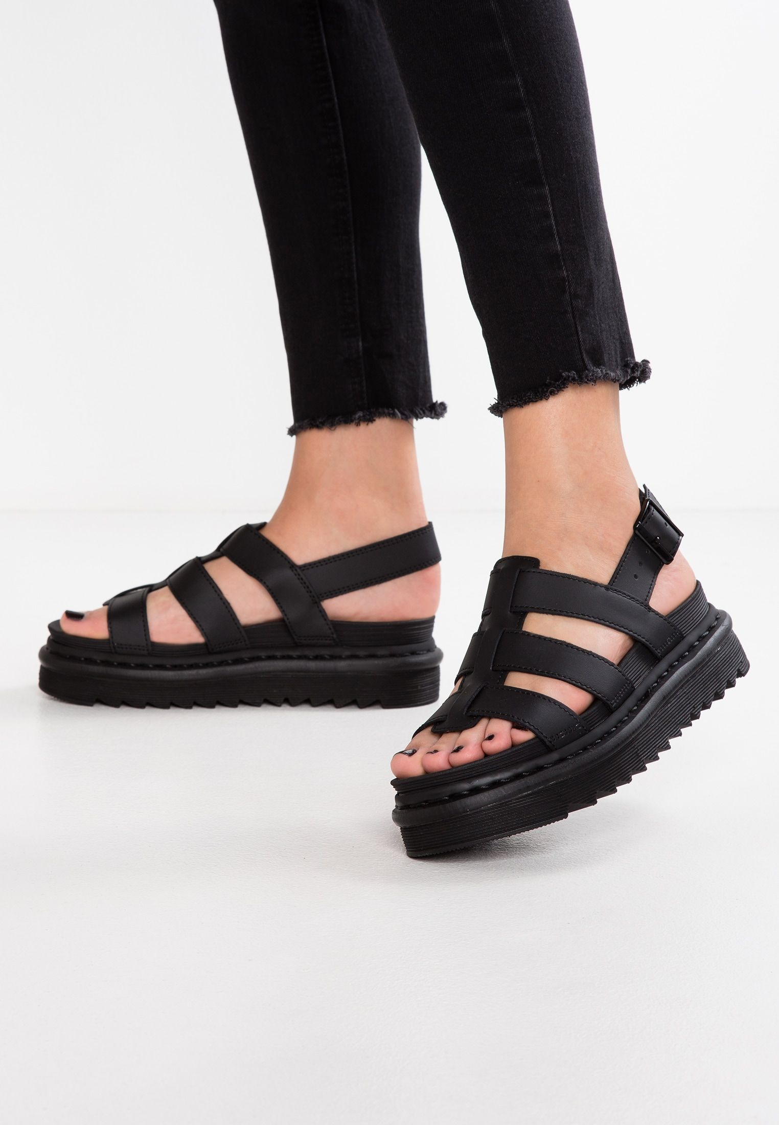 incredible prices promo code release date YELENA - Platform sandals - black @ Zalando.co.uk 🛒 in 2020 | Dr ...