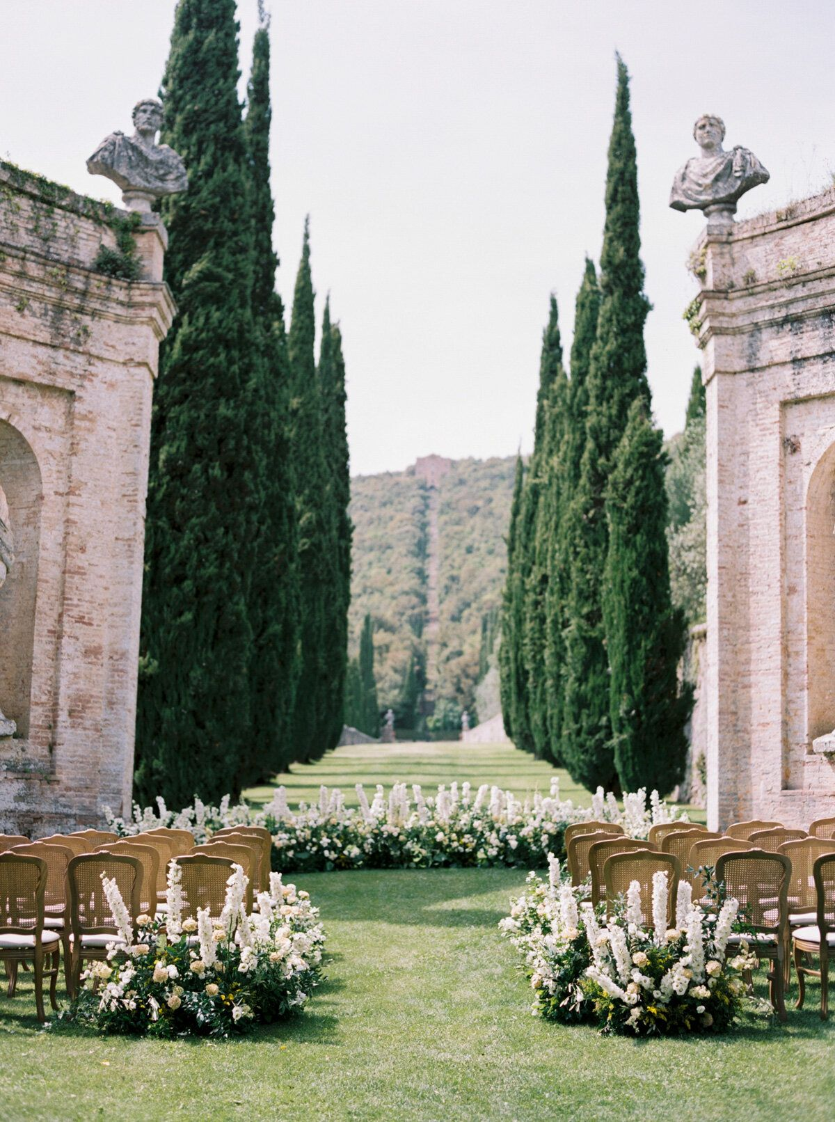 Classic Italian Wedding at Villa Cetinale in Tuscany, Italy  — katie grant photography