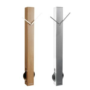Horloge pendule avec balancier en forme tube karlsson design pinterest horloge pendule for Pendule contemporaine