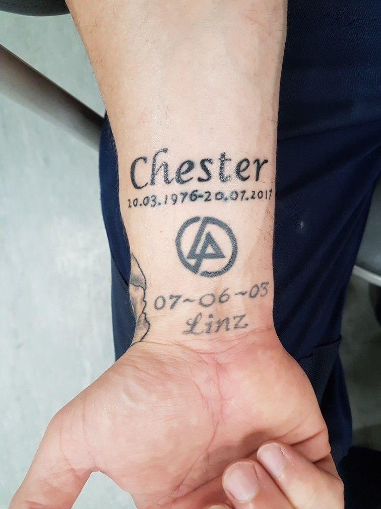 chester bennington memorial tattoo tattoos in 2019