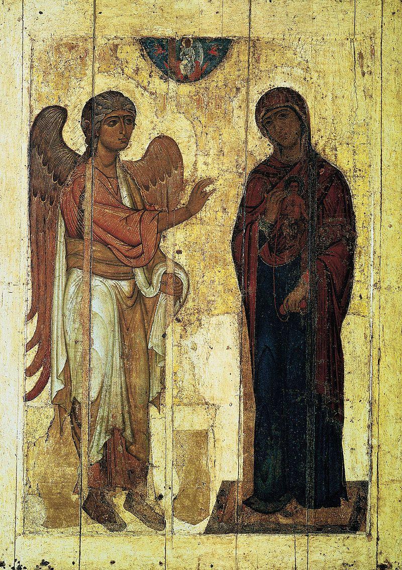 Annunciation ystuj - Annunciation in Christian art - Wikipedia
