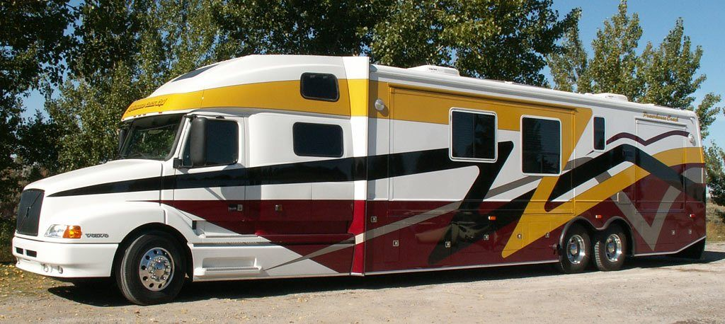 Custom motor coaches by powerhouse coach with images
