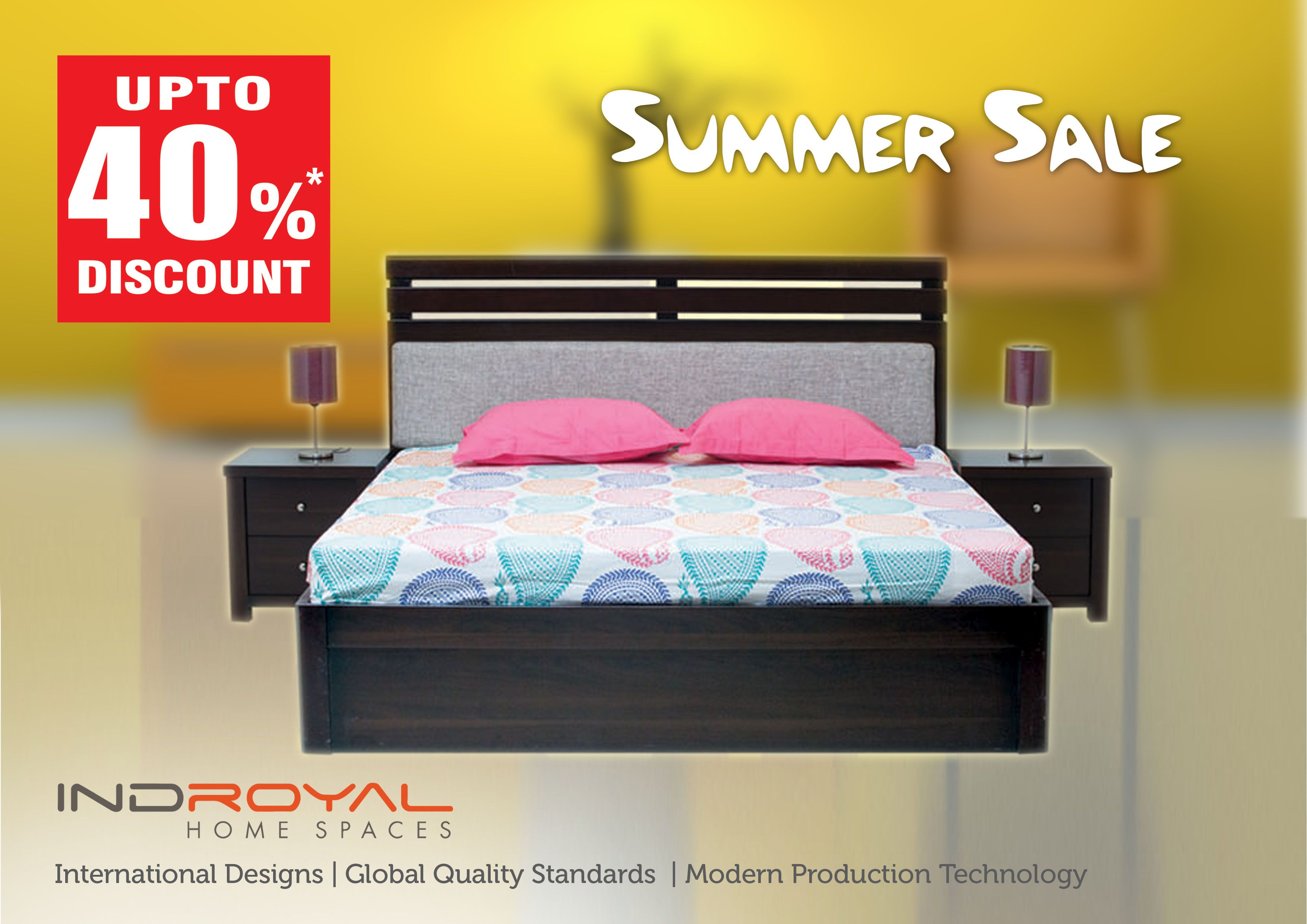 Indroyal Summer Sale Offer Enjoy Savings Of Up To On - Indroyal bedroom furniture
