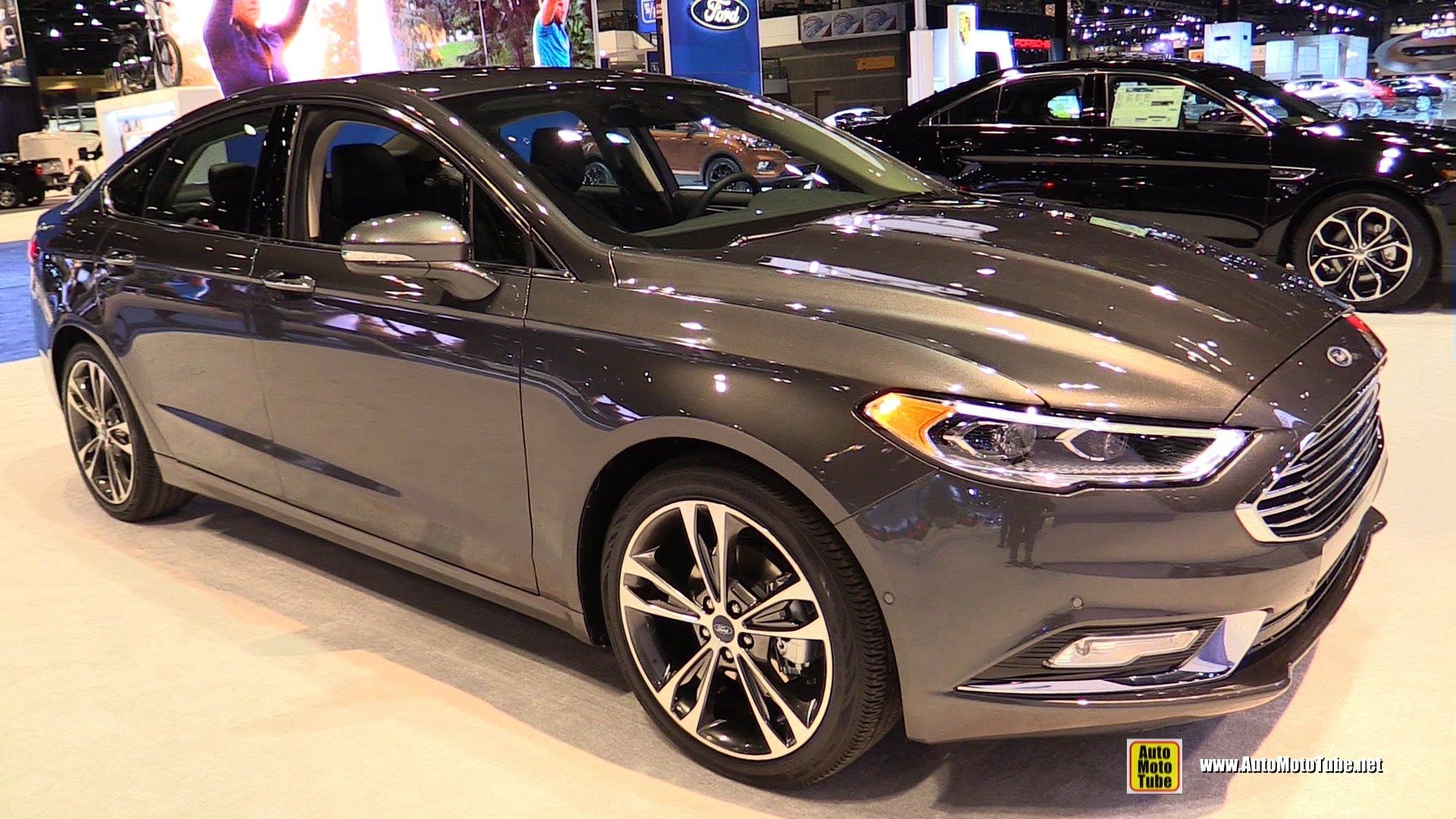 2017 Ford Fusion Titanium Exterior And Interior Walkaround