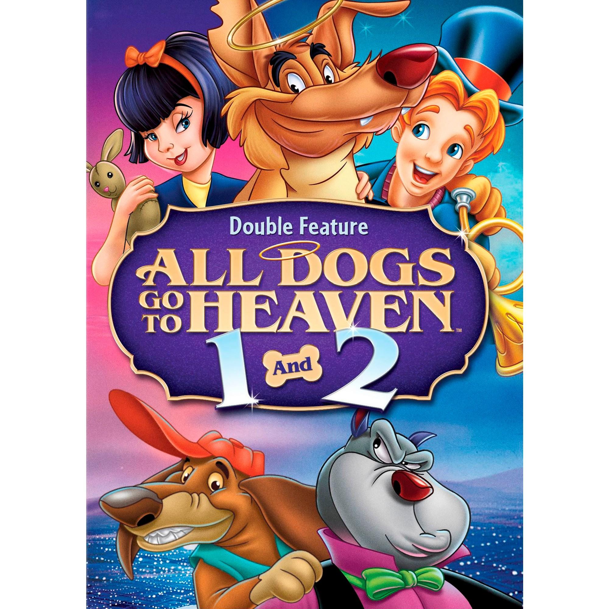 All Dogs Go To Heaven All Dogs Go To Heaven 2 2 Discs Dvd Video