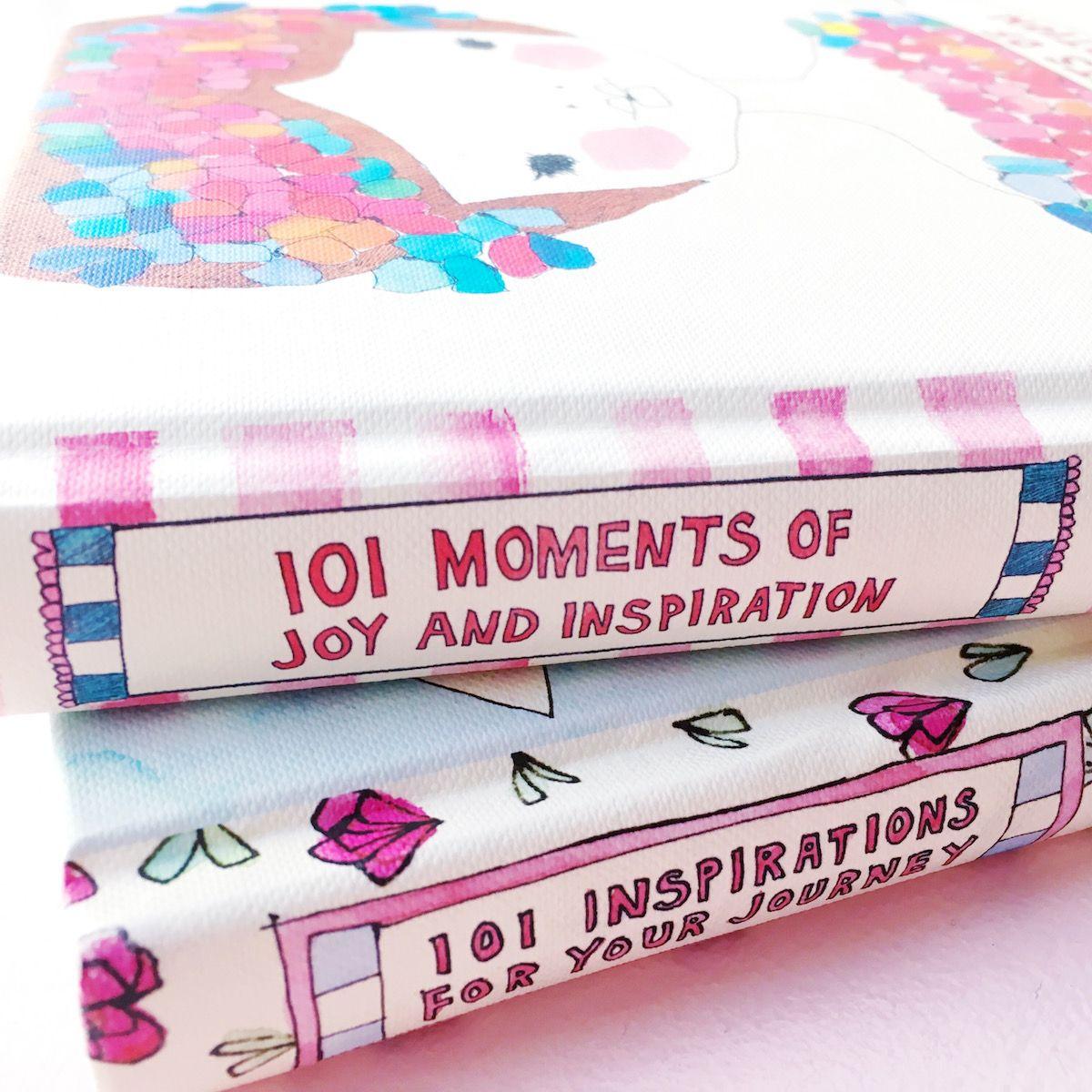 Buchtipp: 101 Moments of Joy and Inspiration & 101 Inspirations for Your Journey #bücher #lesen #wellness #entspannung #achtsamkeit