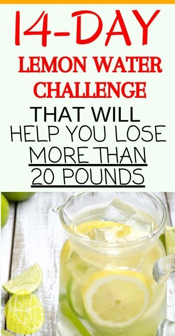 Here's A 14-Day Lemon Water Challenge That Will Help You Lose Weight ,